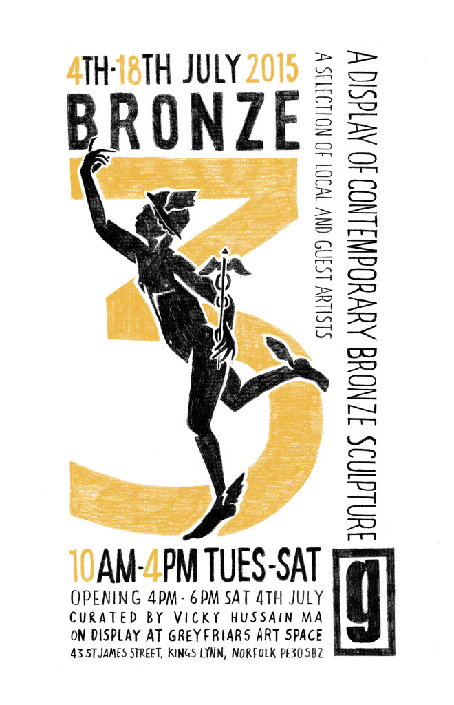 Bronze 3 Poster large