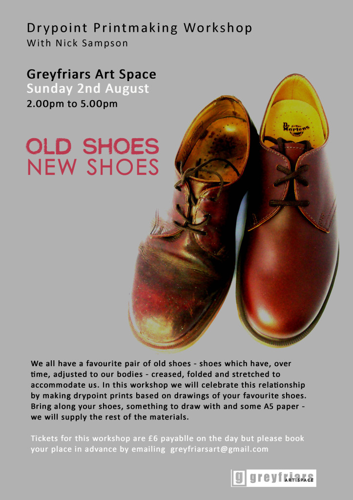 Old Shoes Workshop Poster copy
