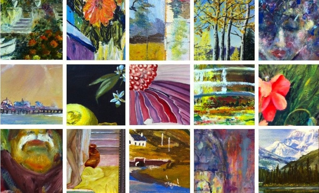 Octavia Painters exhibition cropped landscape image from website